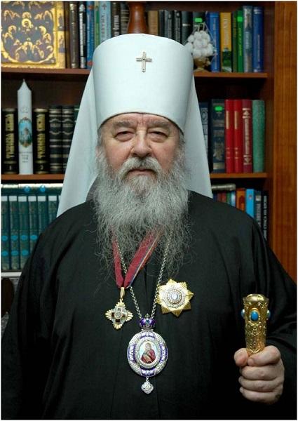 Управляющий Днепропетровской епархией Митрополит Ириней