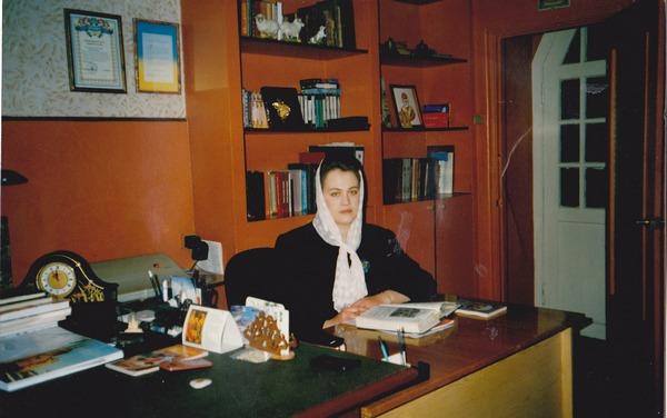 Матушка Ирина Дылевская -- директор Воскресной Школы