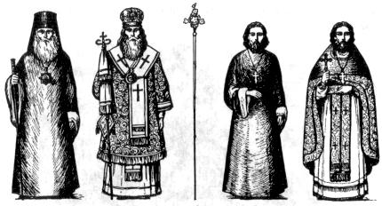 священнические чины