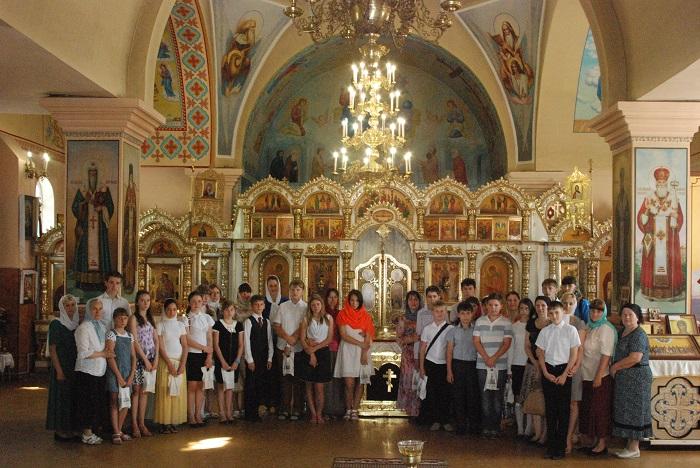 В Свято-Введенском  храме